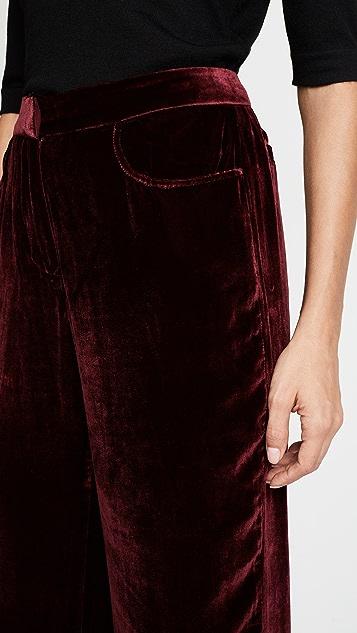 Jenni Kayne Velvet Birkin Pants