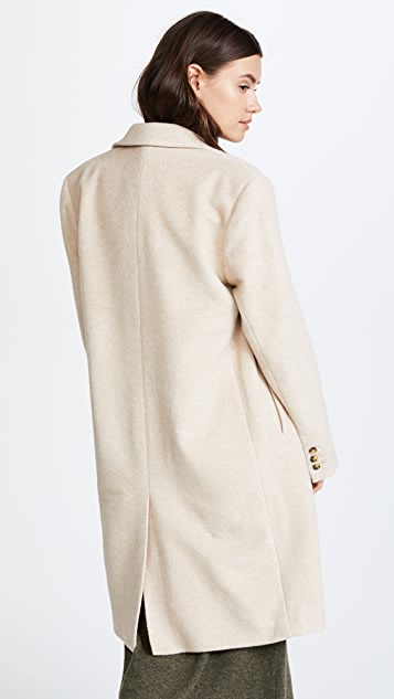 Jenni Kayne Double Breasted Alpaca Coat