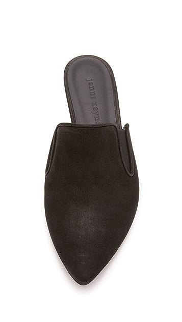 Jenni Kayne Oiled Leather Mule Slide