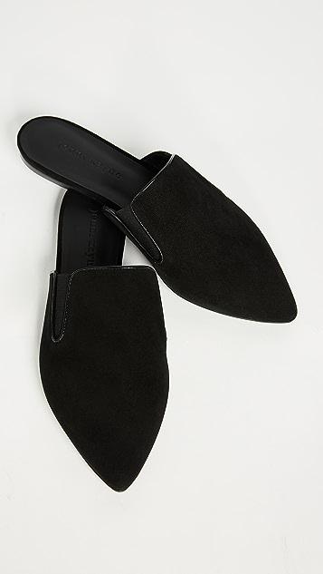 Jenni Kayne 绒面革穆勒鞋