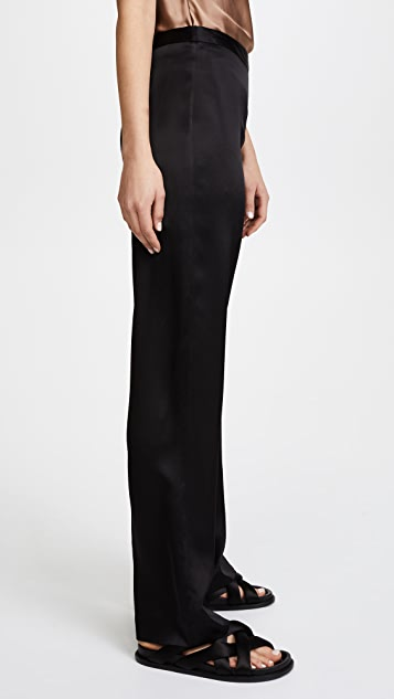 Jenni Kayne Satin Wide Leg Pants