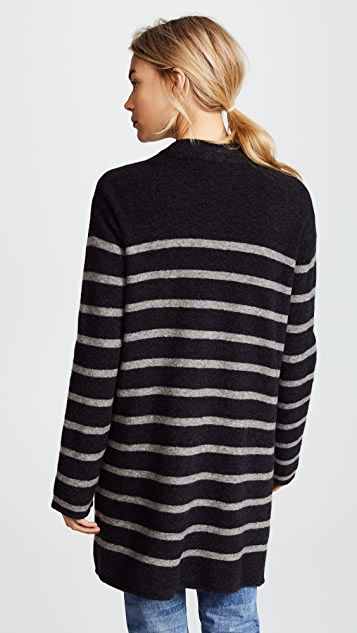 Jenni Kayne Stripe Yak Sweater Coat