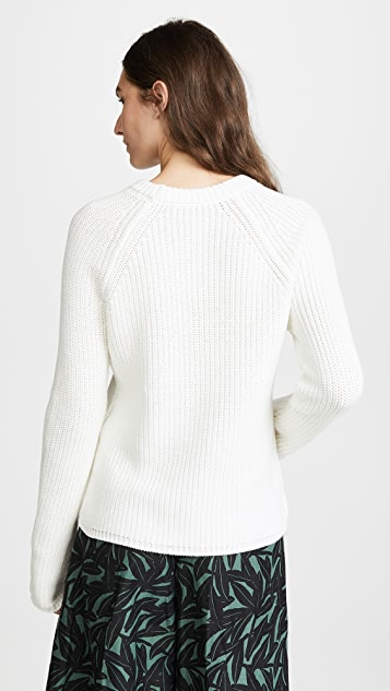 Jenni Kayne Cotton Fisherman Sweater