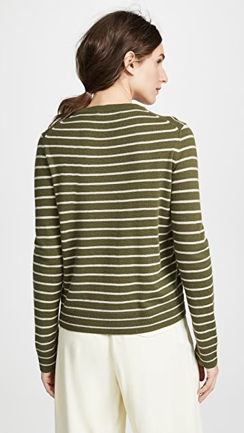 Jenni Kayne Cashmere Striped Sweater