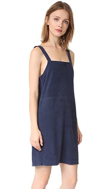Jenni Kayne Suede Tank Dress