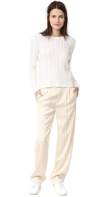 Jenni Kayne Cashmere Crew Neck Sweater