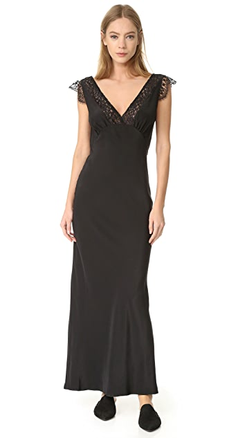 Jenni Kayne Lace V Neck Dress