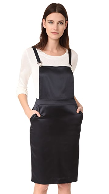 Jenni Kayne Silk Overall Dress