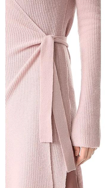 JENNY PARK Ariel Wrap Tunic Cardigan