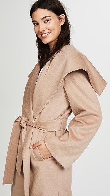 JENNY PARK Elysia Flared Collar Coat