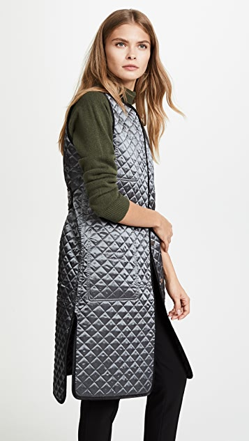 JENNY PARK Kassia Reversible Quilted Vest