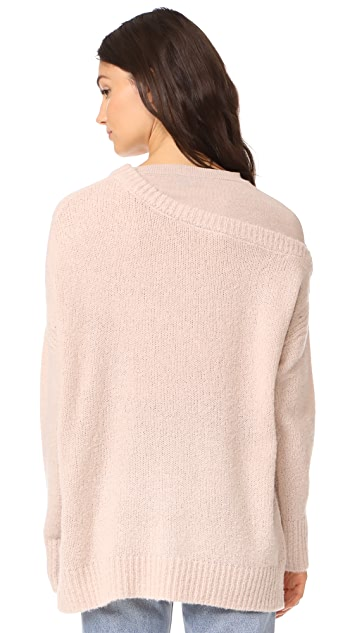 JENNY PARK Dena Cashmere Sweater