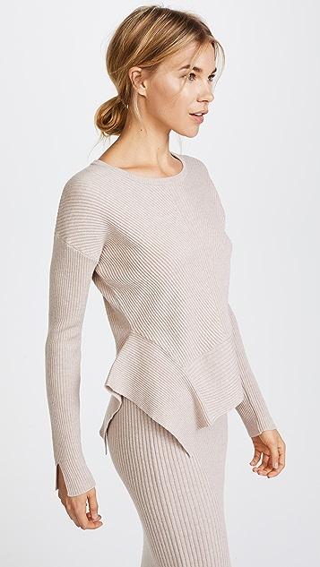 JENNY PARK Adeley Boxy Pullover Sweater