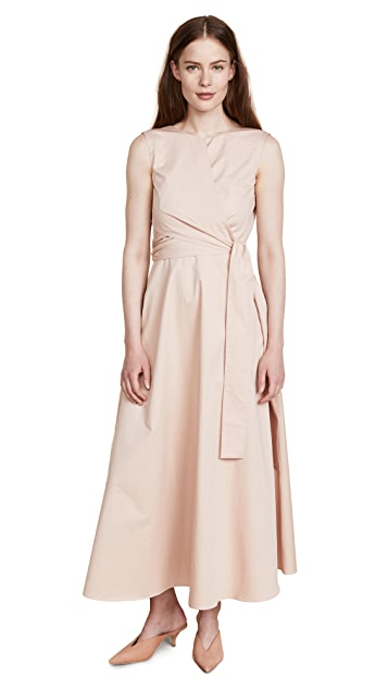 JENNY PARK Delin Maxi Wrap Dress