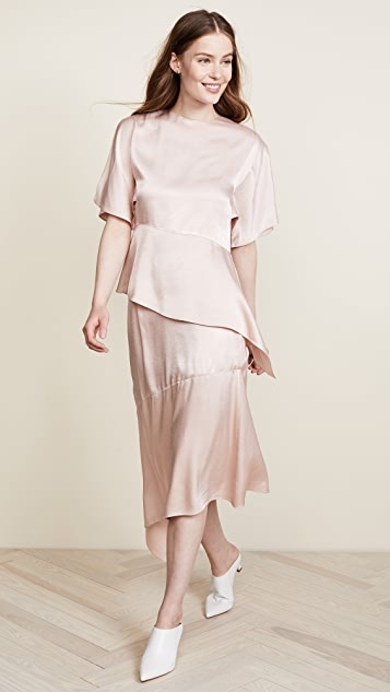JENNY PARK Cecil Asymmetrical Skirt
