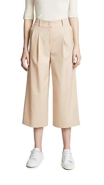 JENNY PARK Weenie Cropped Pants
