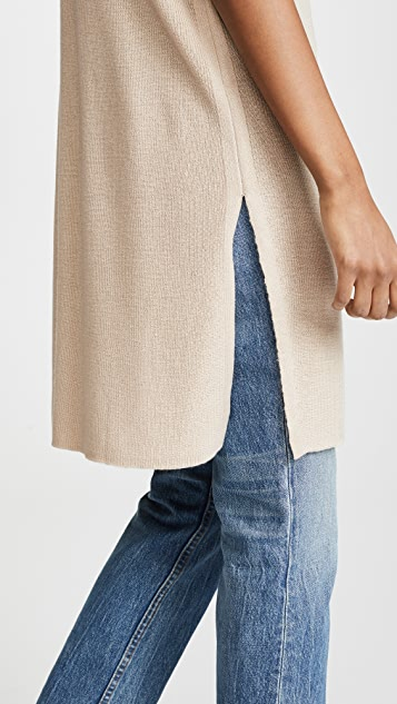 JENNY PARK Isaac Dolman Sleeve Long Knit Top