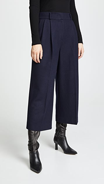 JENNY PARK Leah Cropped Pants
