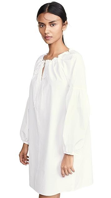 JENNY PARK Alexa Peasant Mini Dress
