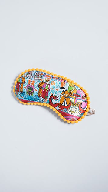 Jessica Russell Flint Hong Kong Sleep Mask