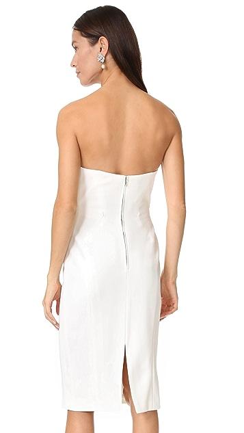 Jill Jill Stuart Strapless Midi Dress