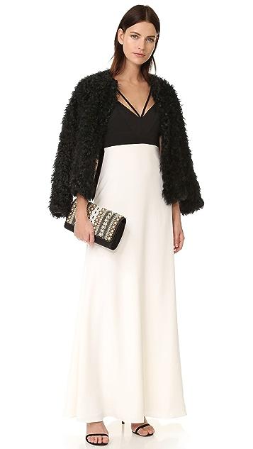 Jill Jill Stuart Colorblock Gown