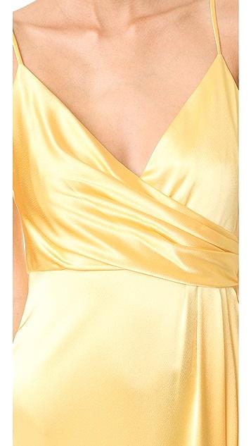 Jill Jill Stuart Satin Slip Gown