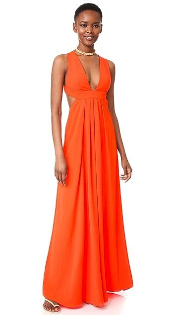 Jill Jill Stuart Вечернее платье с V-образным вырезом