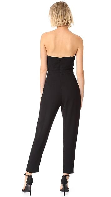 Jill Jill Stuart Strapless Jumpsuit