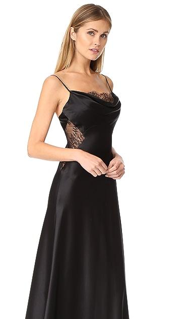 Jill Jill Stuart Lace Inset Gown