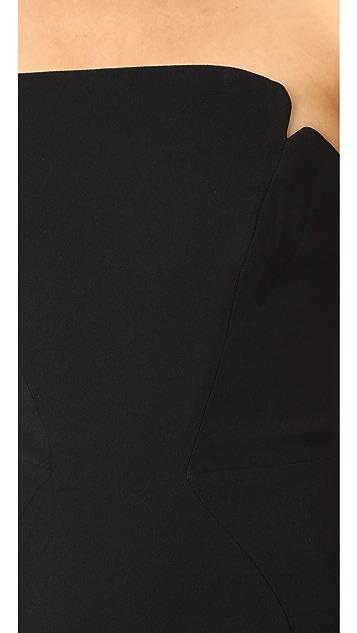 Jill Jill Stuart Strapless Gown