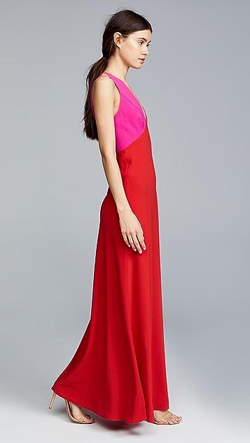 Jill Jill Stuart Two Tone Gown