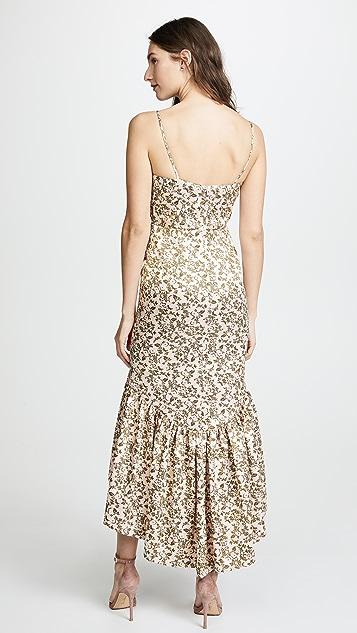 Jill Jill Stuart Jacquard Print Dress