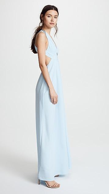 Jill Jill Stuart Deep V Gown