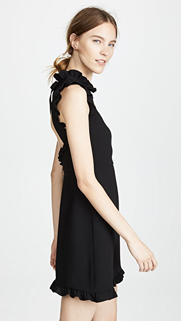 Jill Jill Stuart Ruffle Hem Dress