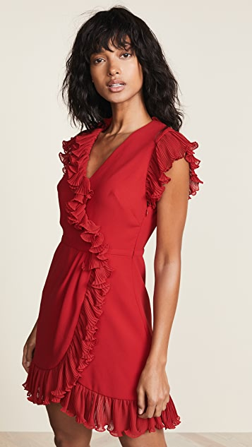 Jill Jill Stuart Ruffle Trim Dress