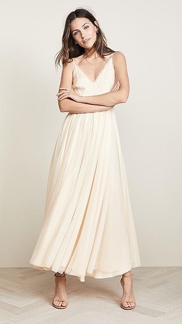 Jill Jill Stuart Frill Trimmed Dress