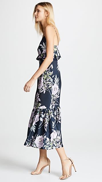 Jill Jill Stuart Ruffle Floral Gown