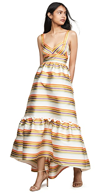 Jill Jill Stuart Платье в полоску