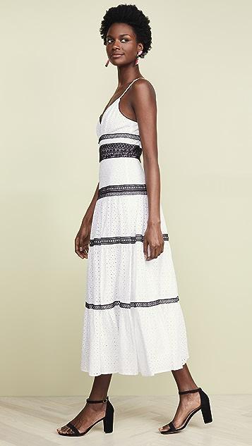 Jill Jill Stuart Dresses Eyelet Stripe Dress