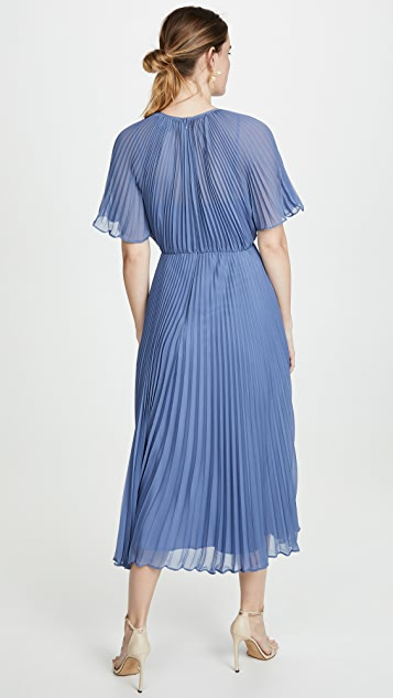 Jill Jill Stuart Pleated Gown