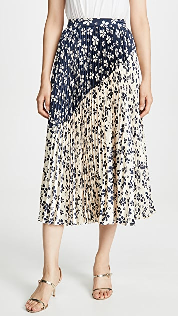 Jill Jill Stuart Two Tone Skirt