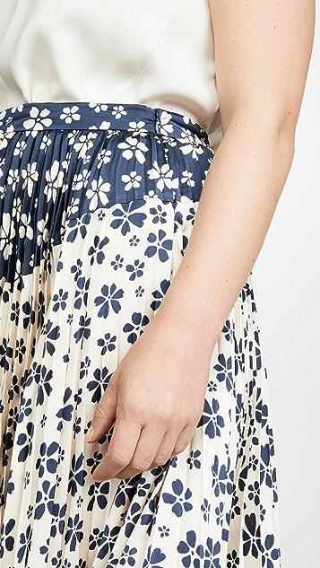 Jill Jill Stuart Two Tone Skirt