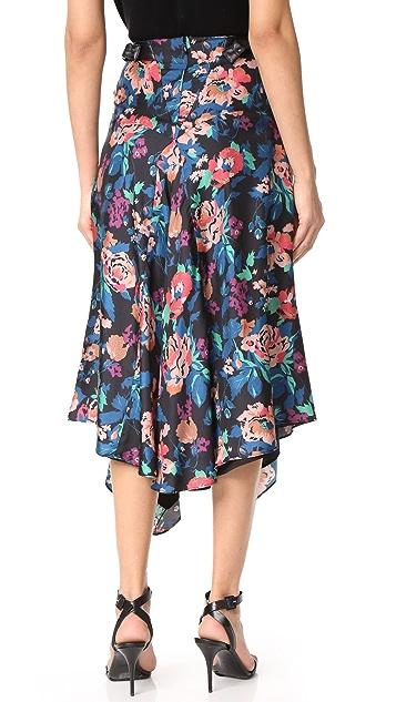 Jill Stuart Crystal Floral Skirt