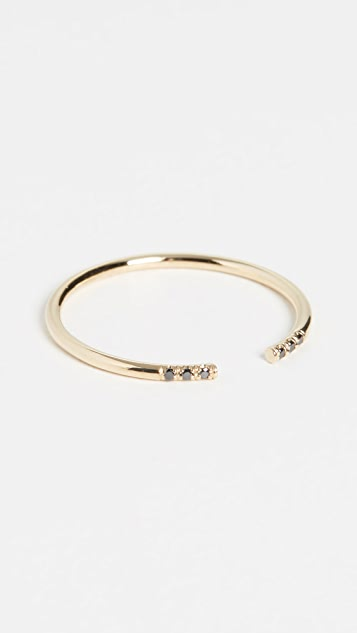 Jennie Kwon Designs 14k Black Equilibrium 指环