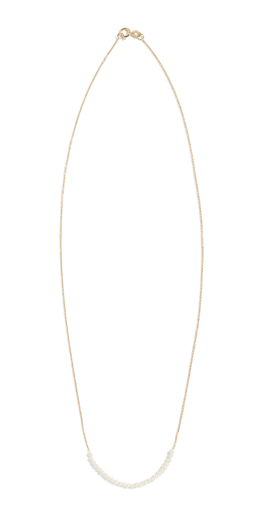 14k Pearl Arc Necklace