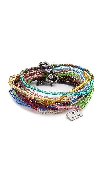 Juliet & Company Sand & Snow Bracelet