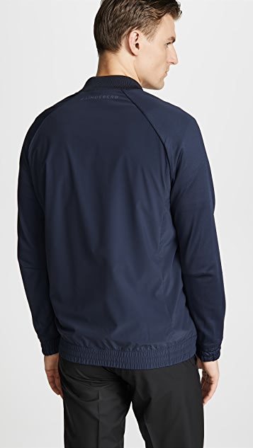 J Lindeberg M Luxe Bridge Hybrid Tech Jacket
