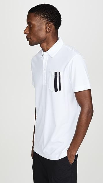 J Lindeberg Owen Reg Luxe Pique Shirt