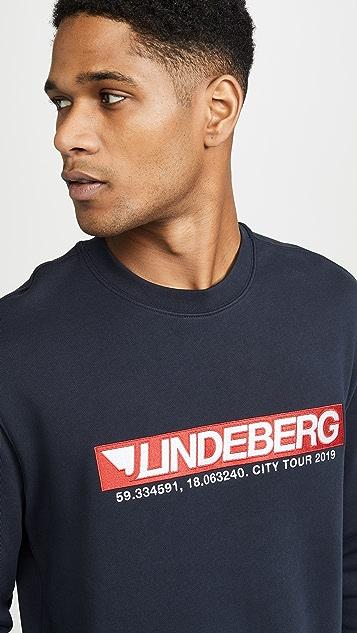 J Lindeberg Hurl C Neck Ring Loop Sweatshirt